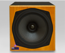 KS Digital C5 Coaxial Studio Monitor Front Picture